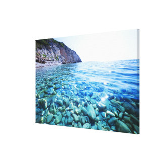 Black Sea Canvas Print
