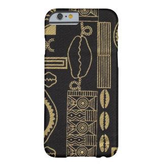 Black Sea Shell Mud Cloth iPhone 6 case