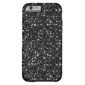 Black Sequin Effect Phone Cases