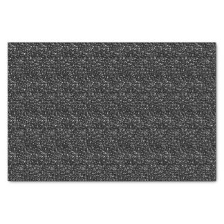 BLACK SEQUINS-TISSUE WRAPPING PAPER