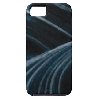 black shadow lanes iPhone 5 case