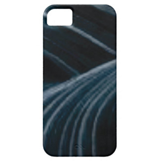 black shadow lanes iPhone 5 cover