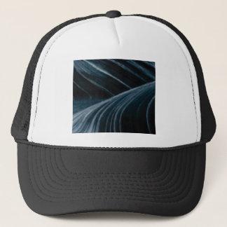 black shadow lanes trucker hat
