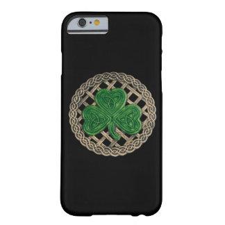 Black Shamrock On Celtic Knots iPhone 6 Case