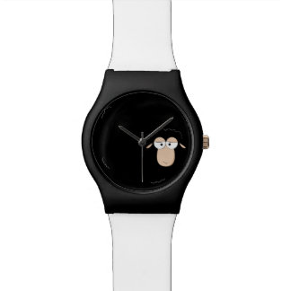 Black sheep cartoon watch