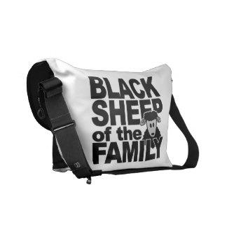 Black Sheep custom messenger bag