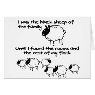 Black Sheep of the Family Card