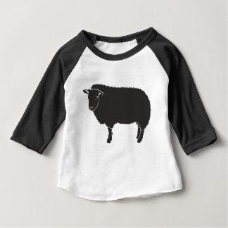 Black Sheep Silhouette Baby T-Shirt