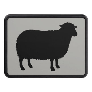Black Sheep Silhouette Trailer Hitch Cover