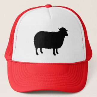 Black Sheep Silhouette Trucker Hat