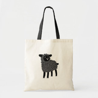 Black sheep, tote bag