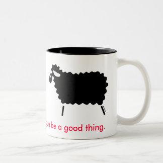 Black Sheep Two-Tone Coffee Mug