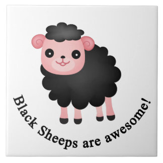 Black sheeps are awesome tile