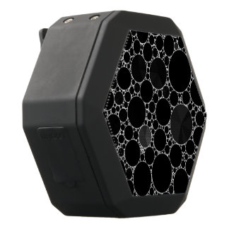 Black Shiny Bling Pattern Black Bluetooth Speaker