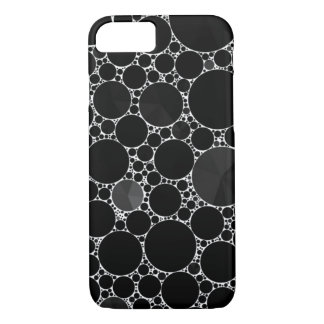 Black Shiny Bling Pattern iPhone 8/7 Case