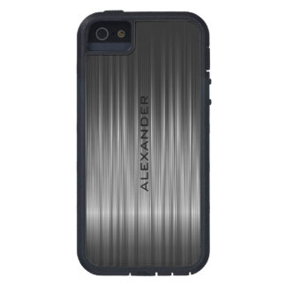 Black Shiny Carbon Fiber Look iPhone 5 Case