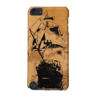 Black Ship Silhouette iPod Touch 5G Cover