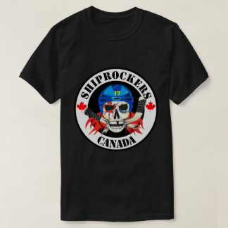 Black Shiprockers Canada T-Shirt