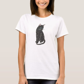 Black Siamese Cat T-Shirt