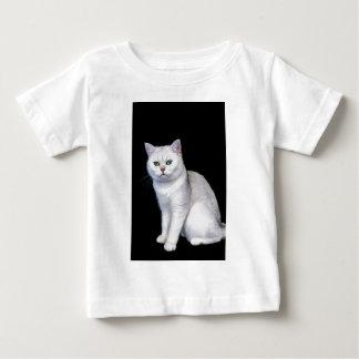 Black silver shaded British short hair cat Baby T-Shirt