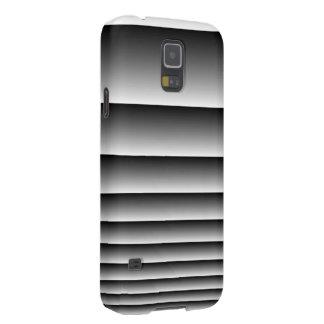 Black Silver Stripes Galaxy S5 Cases