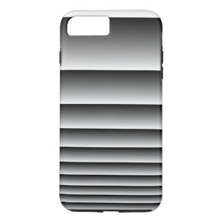 Black Silver Stripes iPhone 7 Plus Case