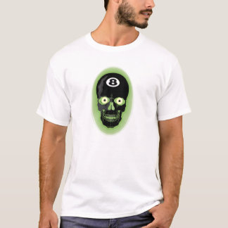 Black Skull 8 Ball T-Shirt