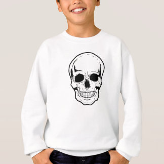 Black Skull Laughter Sweatshirt