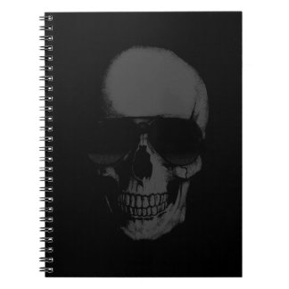 Black Skull Notebook