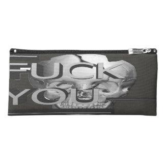 Black Skull Pencil Case