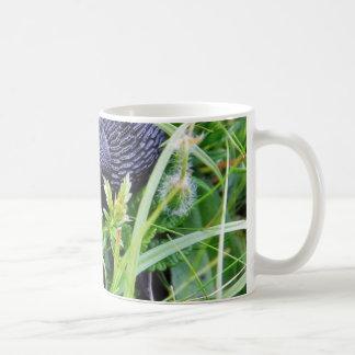 Black Slug In Grass Coffee Mug