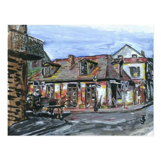 Black Smith Shop, New Orleans Postcard