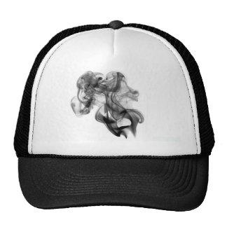 black-smoke-440366 trucker hat