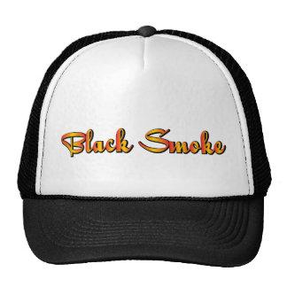 Black Smoke Trucker Hat