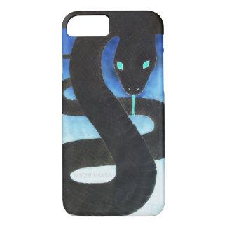 Black Snake 黒福蛇KUROFUKUJYA. iPhone 7 Case