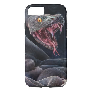 Black Snake Ready to Bite iPhone 8/7 Case