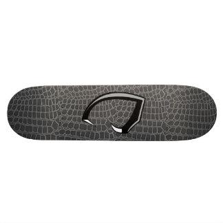 black snake skin deck only skateboard deck