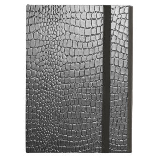 Black Snake Skin Pattern- Leather Look iPad Air Covers