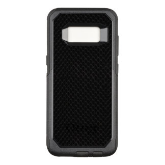 Black Snake Skin Pattern OtterBox Commuter Samsung Galaxy S8 Case