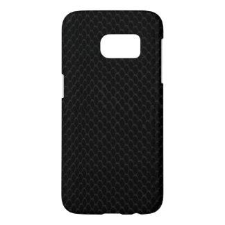 Black Snake Skin Samsung Galaxy S7 Case