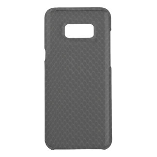 Black Snake Skin Uncommon Samsung Galaxy S8 Plus Case