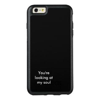black soul OtterBox iPhone 6/6s plus case
