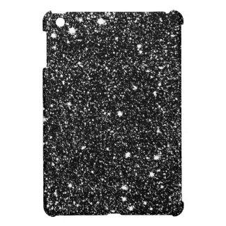 Black Sparkle Stars Cover For The iPad Mini