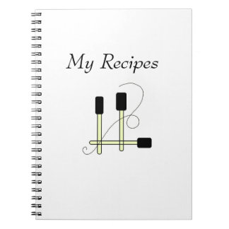 Black Spatulas Notebook
