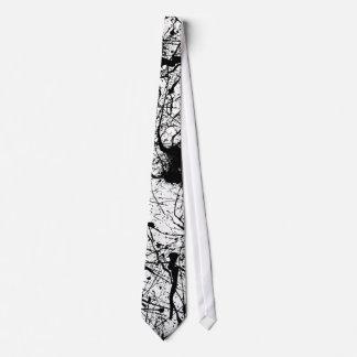 Black Splatter tie