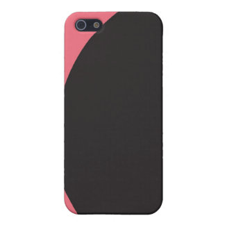 Black Spot iPhone 5 Covers
