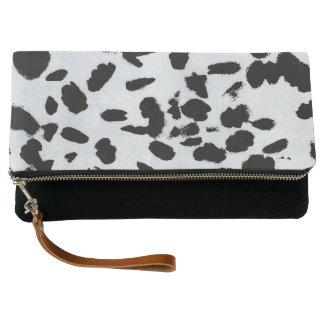 Black Spots Clutch Bag