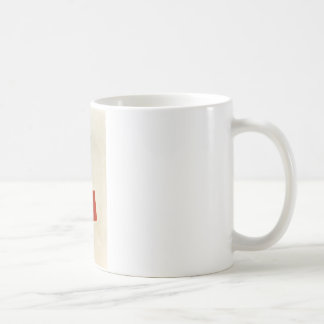 Black Square and Red Square by Kazimir Malevich Coffee Mug