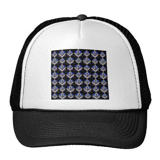 Black Square & Compass Hats
