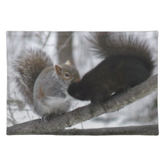 Black Squirrel Placemat